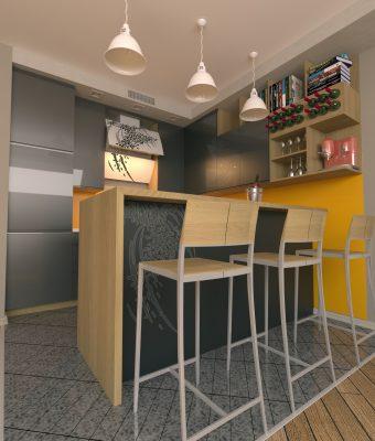Interjero baldų projektai
