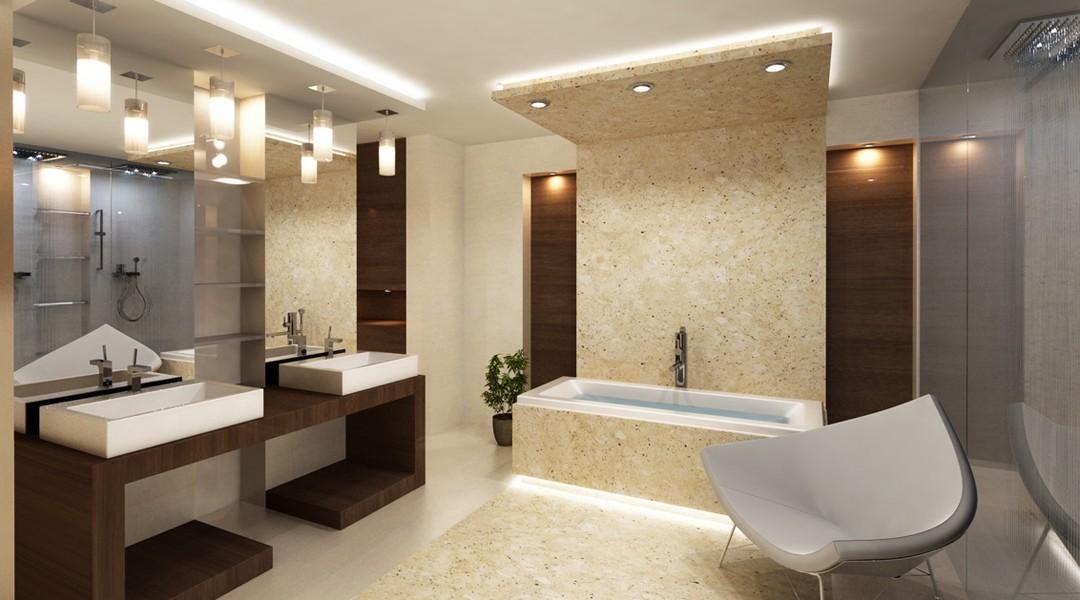 Tinkamiausi šviestuvai vonios kambariui